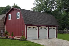 gambrel roof garages prefab 3 car garage with a gambrel barn roofline prices and photos