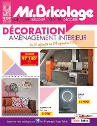 cuisine mr bricolage catalogue nouveau catalogue promo décoration du mr bricolage faaa