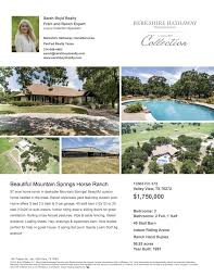 buying or selling a dallas horse property