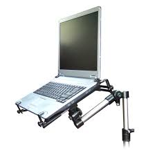 Under Desk Laptop Shelf Universal Vehicle Laptop Mount Bracketron