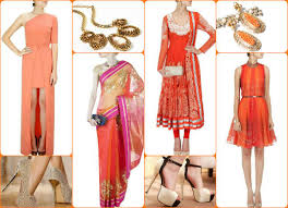 hues of orange navratri 2016 day 2 colour orange easy ways to look attractive and