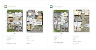layout plan of dha homes home plan
