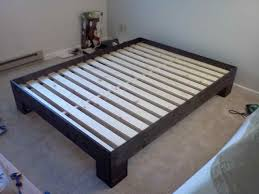plans white rustic modern x platform projects king size ana diy
