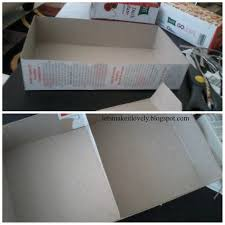 bedroom diy makeup organizer let s make it lovely customized drawer cereal box white with