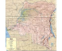 Map Of Austin Maps Of Congo Democratic Republic Detailed Map Of Congo