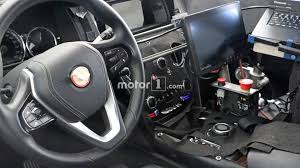 rolls royce steering wheel rolls royce cullinan spotted out testing u2013 including the interior
