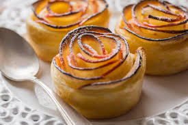 cuisine adict roses de pommes feuilletées cuisine addict cuisine addict