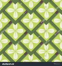 seamless pattern geometric shapes 70s style stock vector 573297520