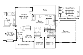 Country Floor Plans Wonderful Country Kitchen House Plans Ranch House Plan Alpine 30