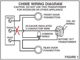 old nutone doorbell wiring diagram diagram wiring diagrams for