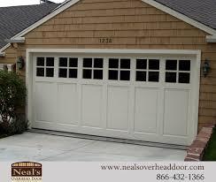 California Overhead Door Craftsman Style Custom Garage Doors Designs And Installation