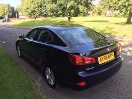 lexus vehicle service history lexus is220d 56 reg in blue with grey trim full service history