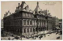 chambre du commerce lyon palais de la bourse lyon wikipédia