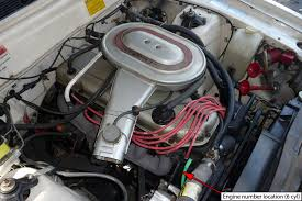 ford falcon xd esp engine number 6 cylinder location ford falcon