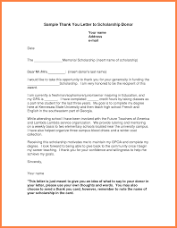 doc 585540 scholarship thank you letter sample u2013 scholarship