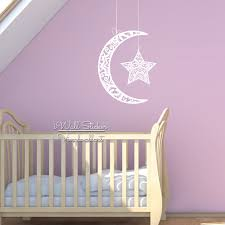 moon and stars wall decals for nursery color the walls of your house moon and stars wall decals for nursery nursery moon star wall sticker star moon wall