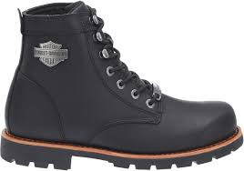 low cut biker boots 93423 harley davidson mens vista ridge black leather low cut