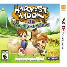 harvest moon moon 3d the lost valley