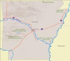 state of arkansas map national landmarks by state national landmarks