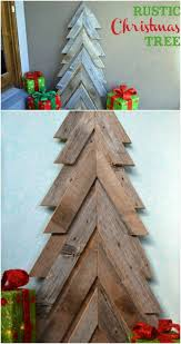 christmas tree pallet 40 rustic christmas decor ideas you can build yourself diy crafts