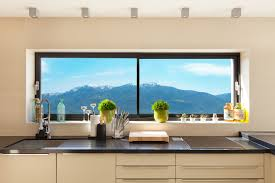 Solutions For Small Kitchens Led Lights Integrated Into The Internal Rooflight Reveal Roof