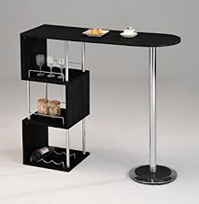 Kitchen Bar Table With Storage Brand Furniture Chrome Finish Bar Table With