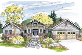 Craftsman House Plans With Walkout Basement by Craftsman House Plans Mccarren 10 509 Associated Designs