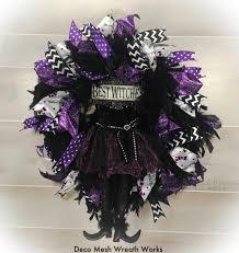 halloween wreaths witch wreath halloween decor halloween