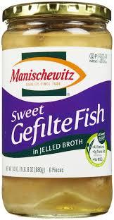 yehuda gefilte fish manischewitz sweet gefilte fish in jelled broth