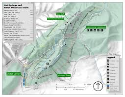 Map Of Arkansas State Parks by Choose A Trail Springs National Park U S National Park