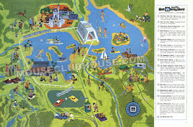 Disney World Magic Kingdom Map Walt Disney World Opening In 1971 Mouse Clubhouse