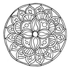 mandala coloring pages easy kids drawing and coloring pages