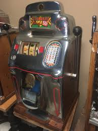 jennings 50 cent standard chief antique slot machine gameroom show