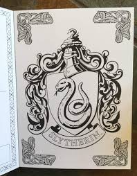 harry potter postcard coloring book harry potter amino