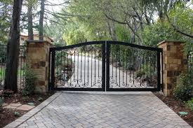 ornamental iron gates houzz