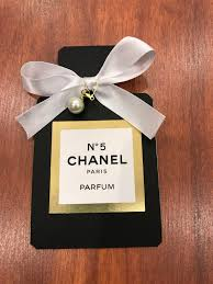 chanel invitation