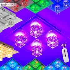 colour changing led ceiling lights led rgb ceiling light with colour changing mode amazon co uk lighting