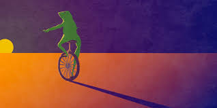 Unicycle Meme - i killed your meme and i don t care the daily dot
