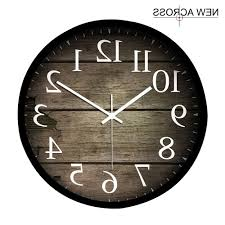 Wood Clock Designs by Home Design Large Wood Wall Clock Throughout Wooden 93 Awesome
