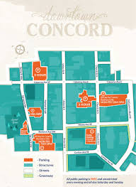 Concord Massachusetts Map by Concord Downtown U003e Parking U003e Parking