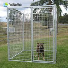 outdoor dog kennel house cover roof pen cage crate backyard 10x10