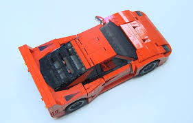koenigsegg lego lego creates awesome miniature ferrari f40 we love it