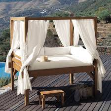 unique canopy beds stylish and fashionable outdoor beds for the ultimate backyard lounge