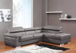 canapé d angle en cuir gris photos canapé d angle cuir gris
