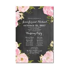 wedding program sign wedding program sign welcome wedding sign program sign wedding