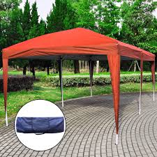 10 X 20 Shade Canopy by Gym Equipment Outdoor Pop Up Canopy Tent With Carry Bag 10 U0027 X 20 U0027
