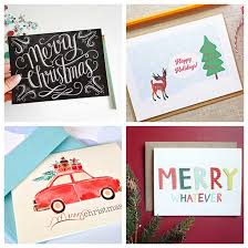 christmas card collections on etsy decor advisor