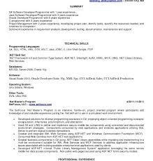 Sample Resume For Java Developer by Download Java Developer Resume Sample Haadyaooverbayresort Com