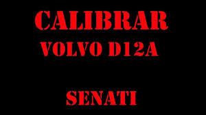 volvo truck calibration engine d12a d12d d13a camion calibracion