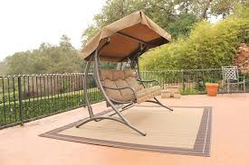 Discontinued Patio Furniture by Stc Santa Fe Patio Glider With Canopy Jh319c On Sale Now